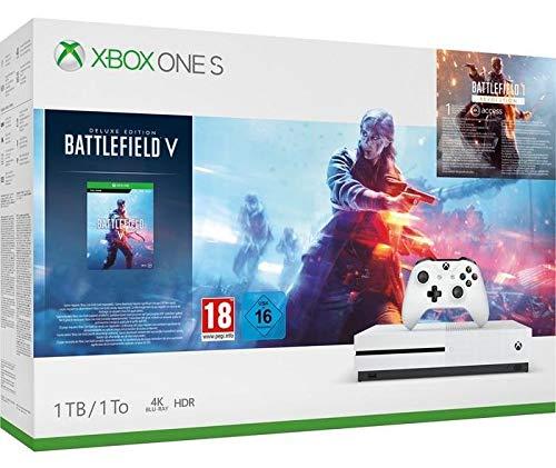 Microsoft Xbox One S - Consola 1 TB + Battlefield V TODOS LA BUSCAN EN 2019
