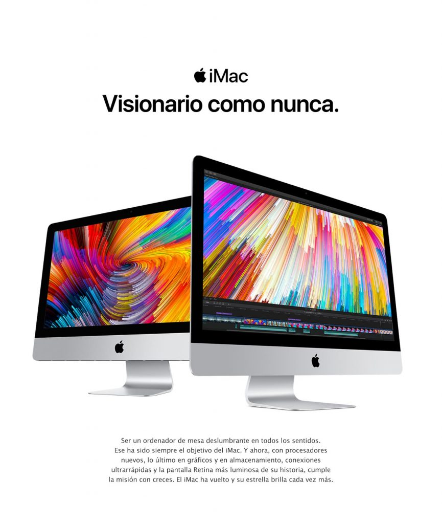 "Apple iMac  Ordenador 27"" (pantalla Retina 5K, procesador Intel Core i5 de cuatro núcleos a 3,5 GHz)"